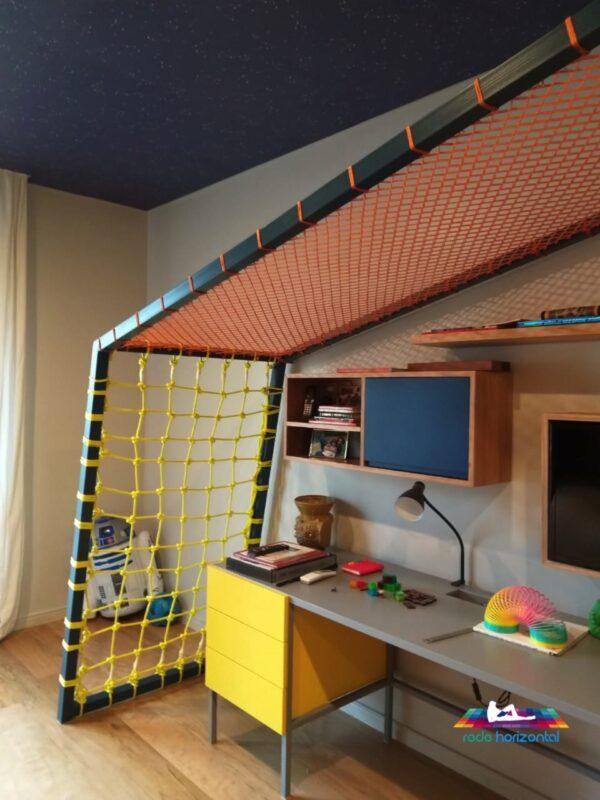 Rede Horizontal para Quartos Infantis